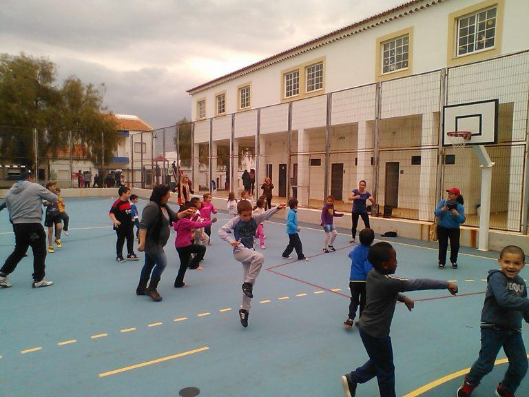 Aula em Escola Publica